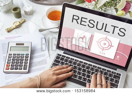 Business Strategy Results Progress Concept