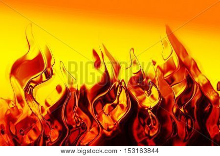 Abstract Fire Texture