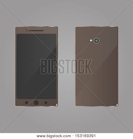 Smartphone Icon Vector. Smartphone Icon JPEG. Realistic three brown mobile phone. Smartphone Icon Picture. Smartphone Icon Image. Smartphone Icon Art. Smartphone Icon JPG. Smartphone Icon EPS. Smartphone Icon AI. Smartphone Icon Drawing