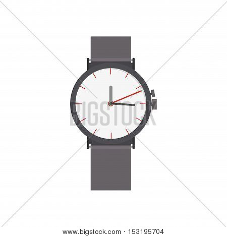 watch man accessory icon over white background. vector illustration
