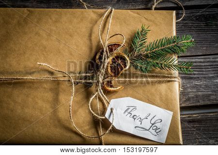 Beautifully Packaged Gift That Says Thank You