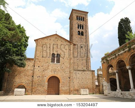 Facade Of The Church Dedicated To Saint Francis Of Assisi In Ita