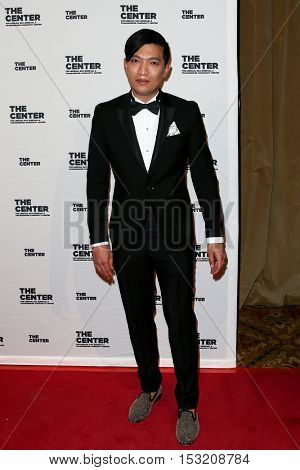 NEW YORK-APR 2: Fashion blogger Bryanboy attends the 2015 Center Dinner at Cipriani Wall Street on April 2, 2015 in New York City.