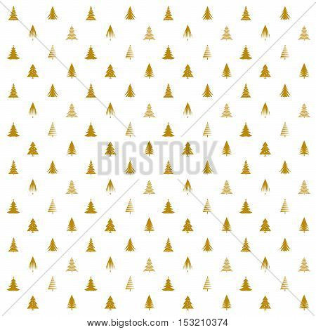 Set of Golden Stars. Vector Illustration, Texture and graphic elements.