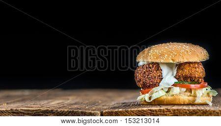 Fresh Made Falafel Burger