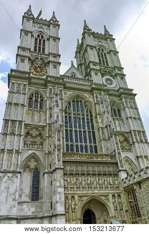 Bell tower of  Church of St. Peter at Westminster, London, England, Great Britain