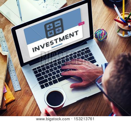 Investment Accounting Finance Budget Concept