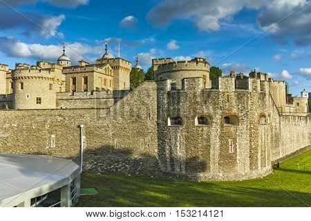 Historic Tower of London, England, Great Britain