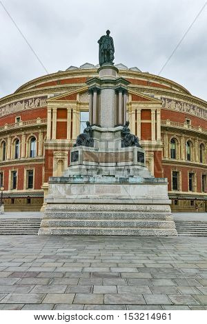 Amazing view of Royal Albert Hall, London, Great Britain