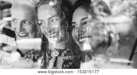 Women Communication Together Happy Concept