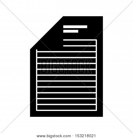 document file format isolated icon vector illustration design