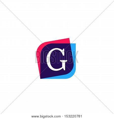 G letter sign company symbol vector design