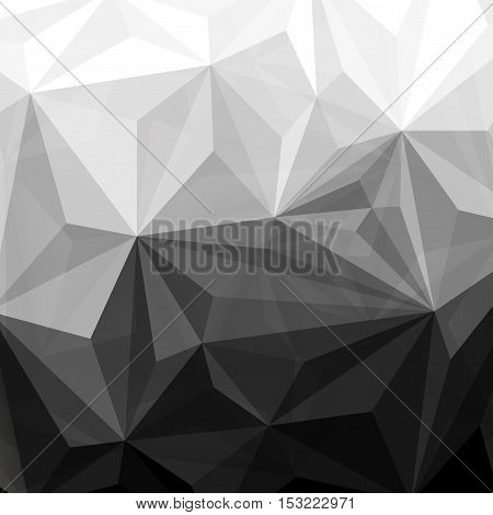 Illustration of  Abstract polygonal triangle geometric background