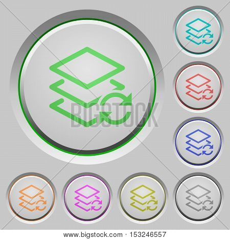 Swap layers color icons on sunk push buttons