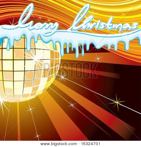 Christmas Party vector background
