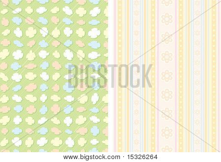Simple vector backdrop template