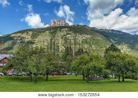 View of Alps mountain near Altaussee Styria Austria
