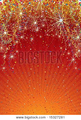 Festive colorful vector background template