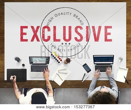 Business Exclusive Approved Assurance Concept