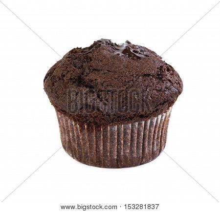 Chocolate Muffin With Liquid Chocolate