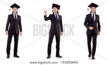 Businessman ready for executive MBA