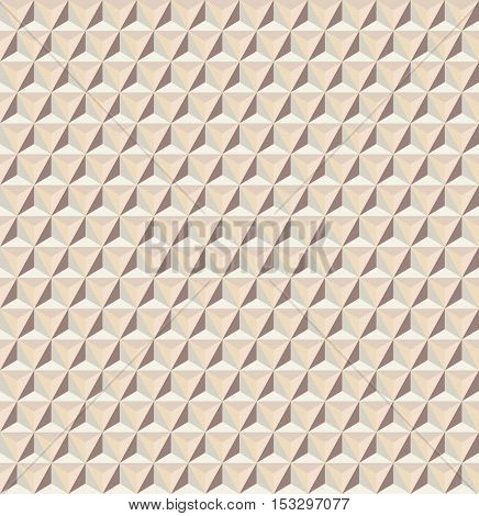 Vector seamless abstract triangles pattern in light colors