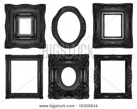Beautiful ornate frames