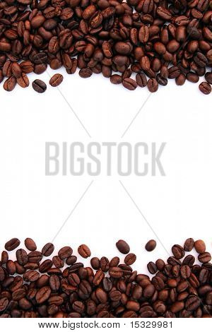 Coffee frame background