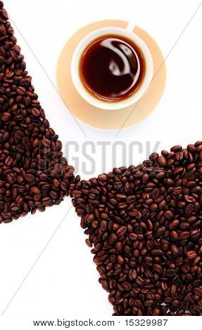 Coffee design concept