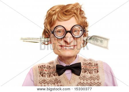 Dollar bills coming out of my ears similar available in my portfolio