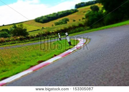 Car Hill Climb Race Track Starting Position Grid