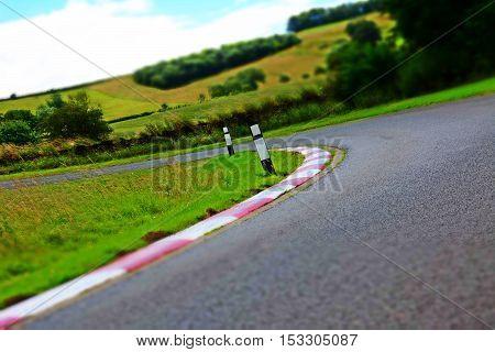 Car Hill Climb Race Track Starting Position Grid