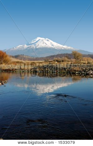Mount Shasta Reflection