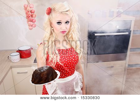Baking disaster, similar available in my portfolio