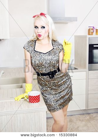 Sexy housewife, similar available in my portfolio