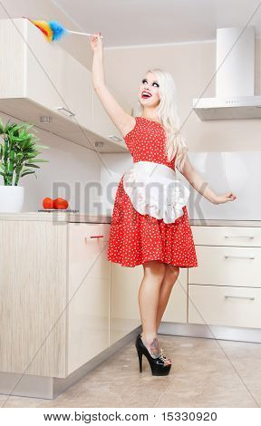 Spring cleaning in the kitchen, similar available in my portfolio
