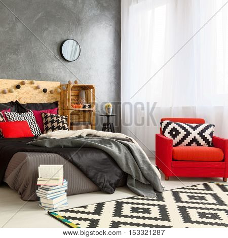 Modern Decoration In New Bedroom