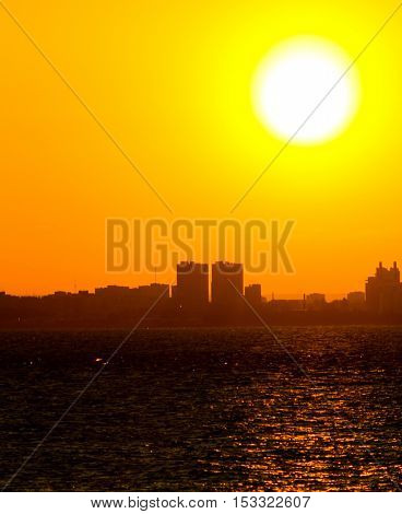 Gold Sunset Heavens