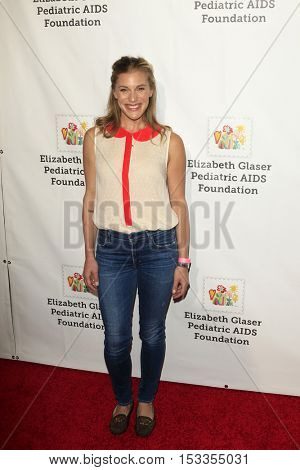 LOS ANGELES - OCT 23:  Katee Sackhoff at the Elizabeth Glaser Pediatric AIDS Foundation A Time For Heroes Event at Smashbox Studios on October 23, 2016 in Culver City, CA