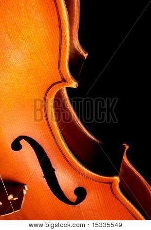 Fragment der Violine