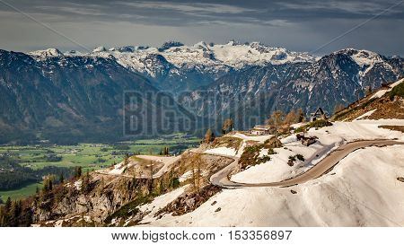 View Over The Alps From The Loser Place, Austria