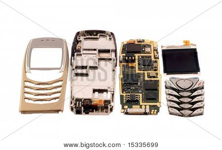 components of mobile phone