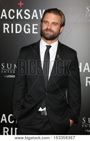 LOS ANGELES - OCT 24:  Milo Gibson at the