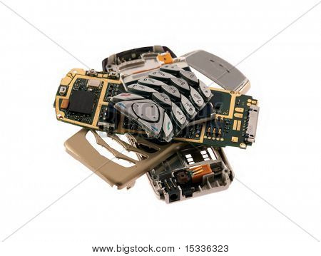 spare parts of cell phone