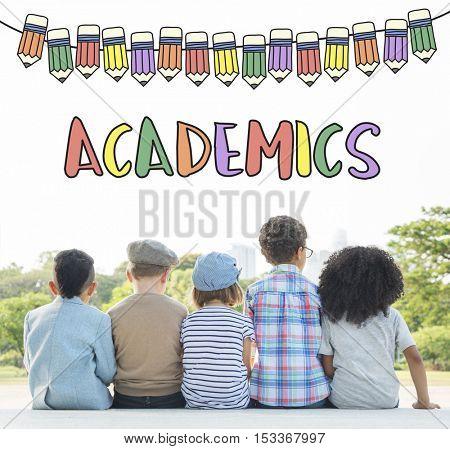 Academics Education School Learning Study Concept