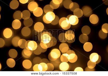 Gold Flecken Bokeh Hintergrund
