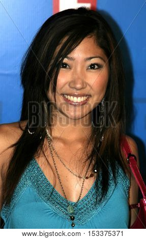 Jelynn Rodriguez at the E! Entertainment Television's Summer Splash Event held at the Hollywood Roosevelt Hotel's Tropicana Club in Hollywood, USA on August 1, 2005.