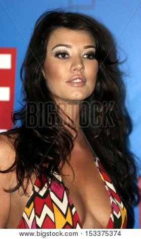 Brittany Brower at the E! Entertainment Television's Summer Splash Event held at the Roosevelt Hotel in Hollywood, USA on August 1, 2005.