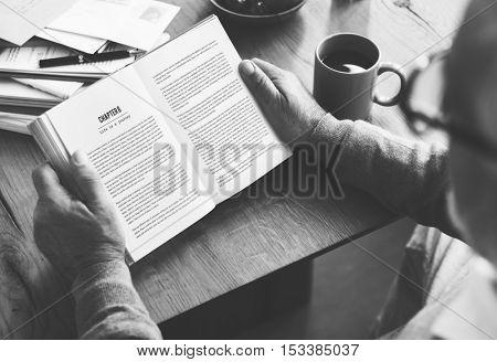 Book Break Coffee Leisure Resting Reading Concept