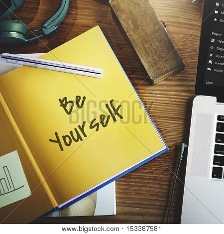 Be Brave Positive Change Concept